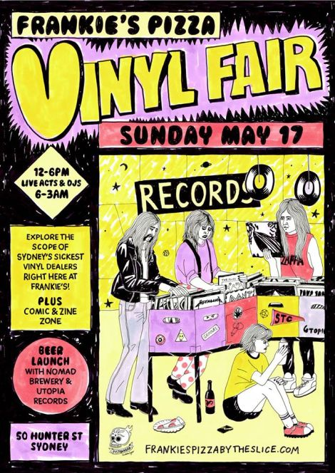 Frankie's Pizza Vinyl Fair
