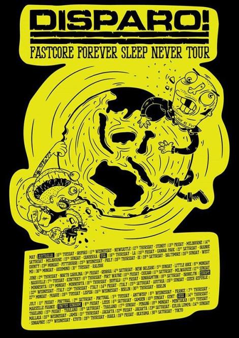 Disparo_2016_Tour_Poster
