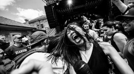 High Tension (Maria De Vera - Laneway Festival, Sydney 2016)