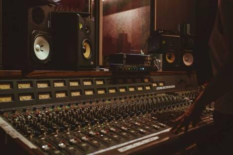Mixing desk (Melissa Cowan)