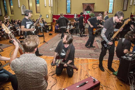 Melbourne Drone Orchestra (Image by Barry Douglas)