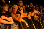 photo of Stiff Little Fingers fans by Rod Hunt